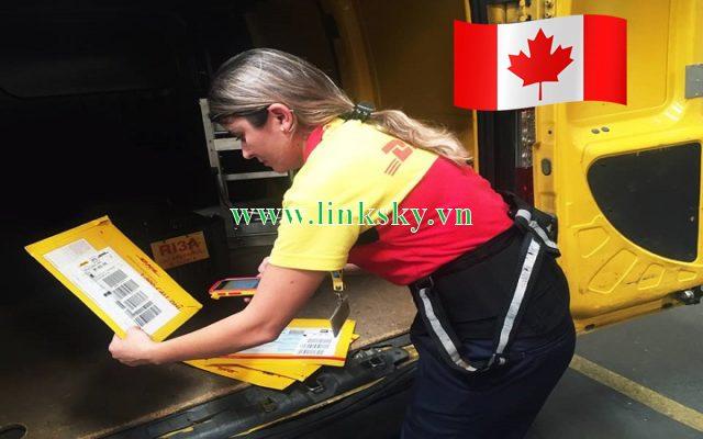 Gửi chứng từ đi Canada