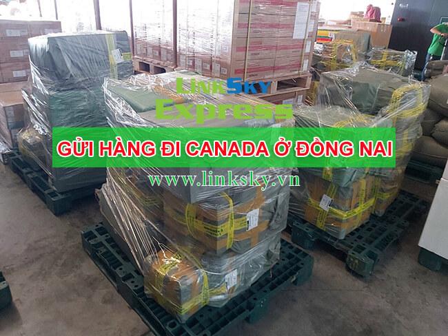 Gửi hàng hóa đi Canada tại Đồng Nai