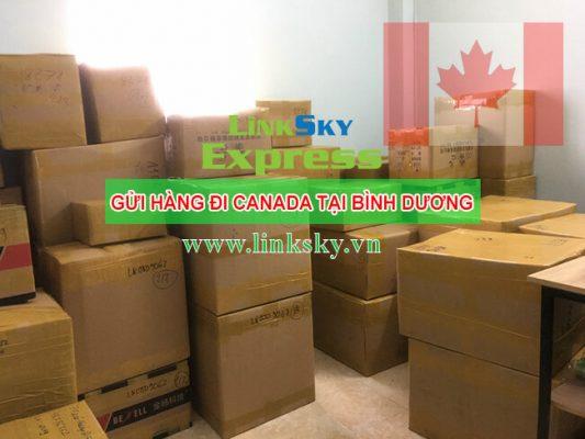Gửi hàng đi Canada ở Bình Dương