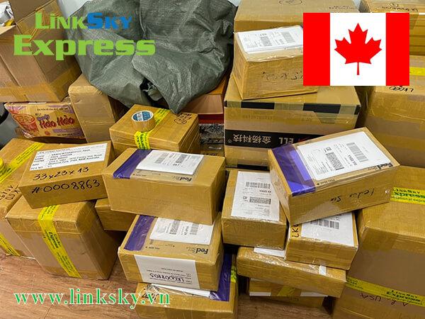 Gửi thực phẩm đi Canada