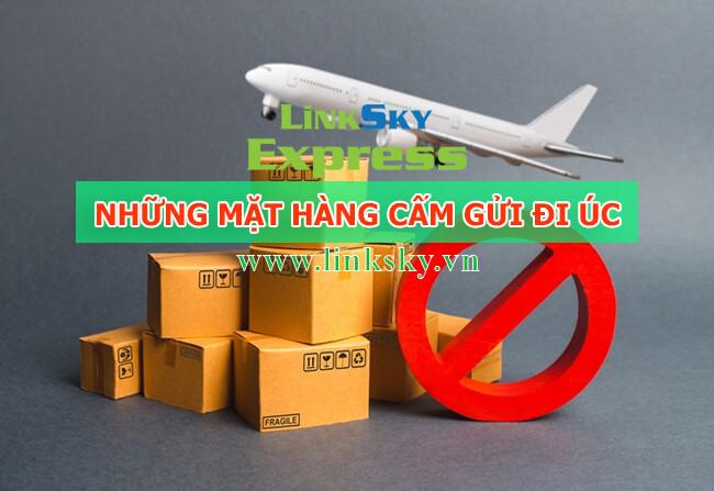 Mặt hàng bị cấm khi gửi hàng đi Úc