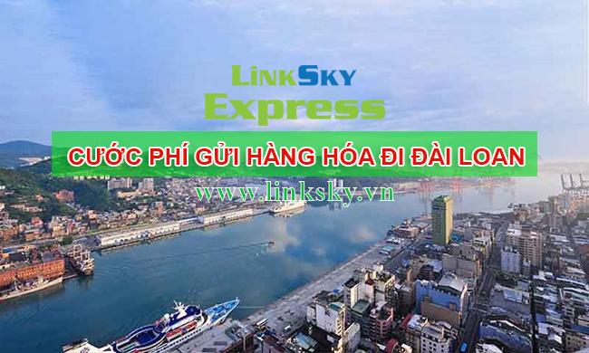 Phí gửi hàng từ Việt Nam sang Đài Loan
